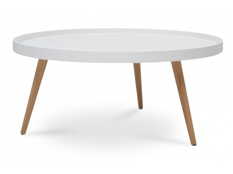 Table basse scandinave blanche conforama - Table basse conforama blanche ...
