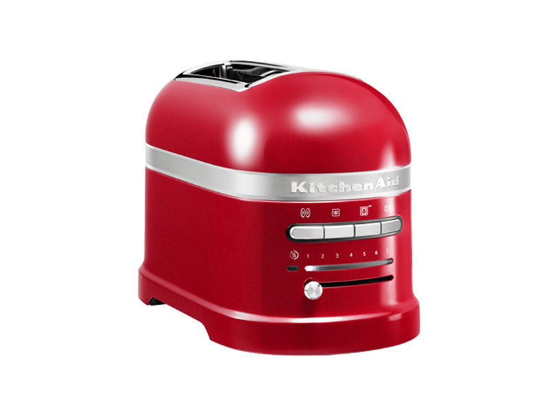 Grille-pains 2 fentes 1250w rouge empire - 5kmt2204 eer 5kmt2204 eer