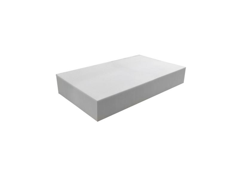 Matelas pour tous | plaque de mousse 30 kg/m³ 80x120 cm | epaisseur 12 cm 3DE.PE.30.12.0812