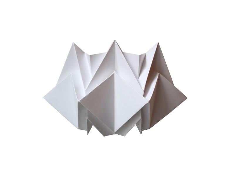 Applique murale origami design en papier - Vente de Applique - Conforama