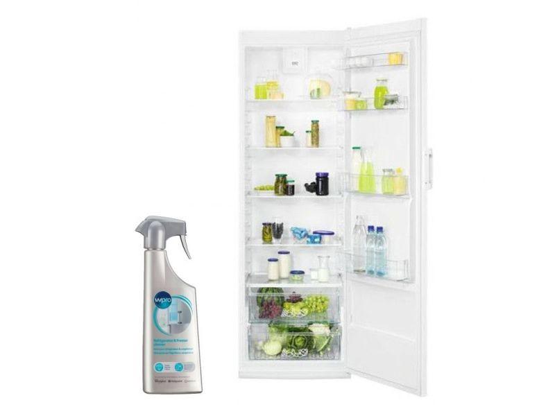 Réfrigérateur frigo simple porte blanc 388l froid brassé dynamicair