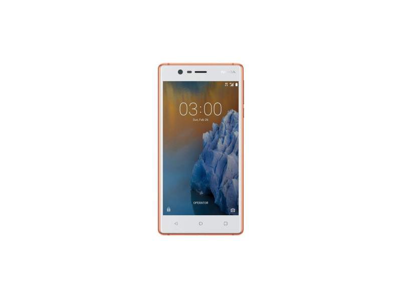 Nokia 3 Double Sim 4g 16go Cuivre Blanc 11ne1r01a15 Vente De
