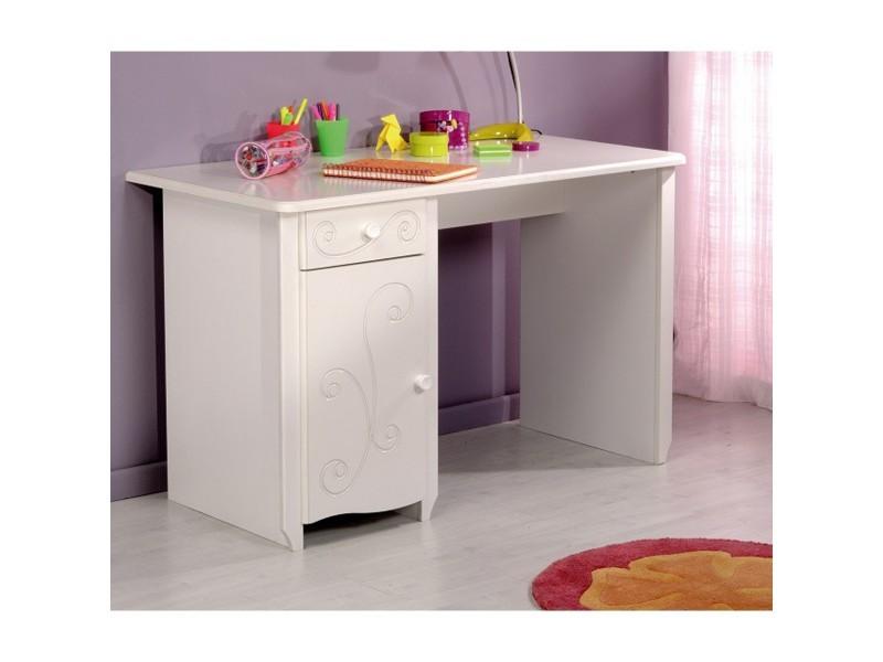 Bureau enfant en bois blanc megève bu vente de bureau