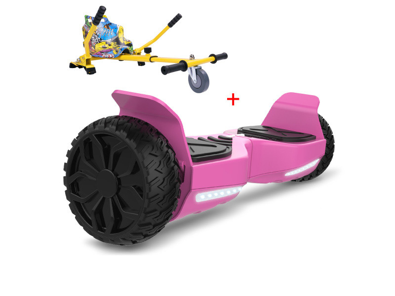 Cool&fun hoverboard hummer 6.5 pouces, gyropode suv tout