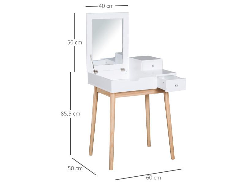 Coiffeuse De Design Rangements Multi Table Scandinave Maquillage kXuOZPiT