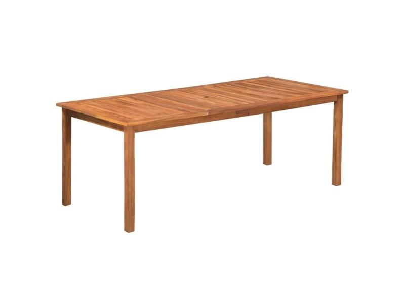 Icaverne - ensembles de meubles d'extérieur collection mobilier d'extérieur 9 pcs résine tressée et bois d'acacia