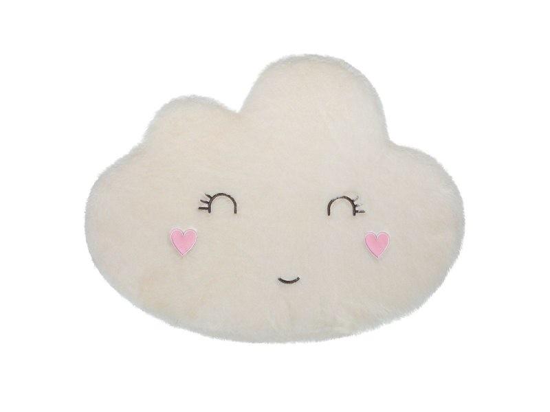 https www conforama fr decoration textile tapis tapis salon et chambre tapis enfant nuage visage blanc p v88688603