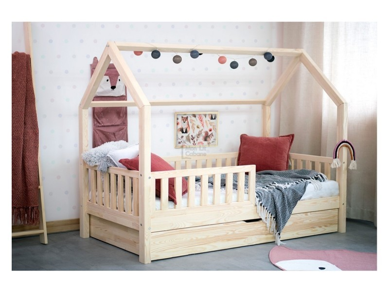 lit cabane l sommier tiroir 80x160 vente de monlitcabane conforama. Black Bedroom Furniture Sets. Home Design Ideas