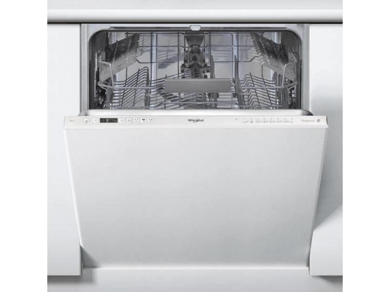 Lave vaisselle tout integrable 60 cm whirlpool wic 3 c 24 pe