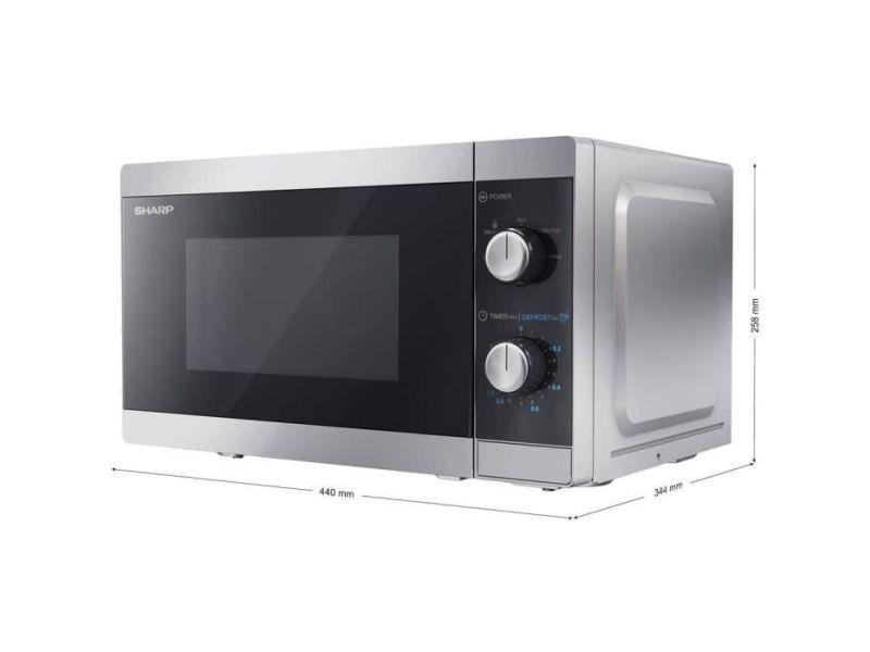 Sharp yc-ms01es - four micro-ondes monofonction 20l - puissance 800w SHA4974019966489