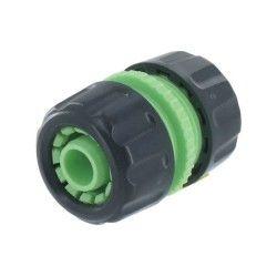 Cap vert - raccord réparateur de tuyau d'arrosage en abs ø 19 mm