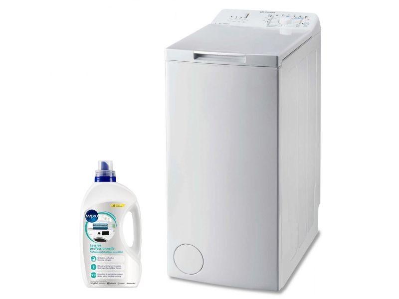 d4c324d8dacaa4 Indesit lave-linge top 6kg 1000trs min a+++ tambour 42l turn   wash machine  à laver - Vente de Lave-linge - Conforama