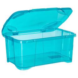 Coffre de rangement - 30 l. - bleu lagon