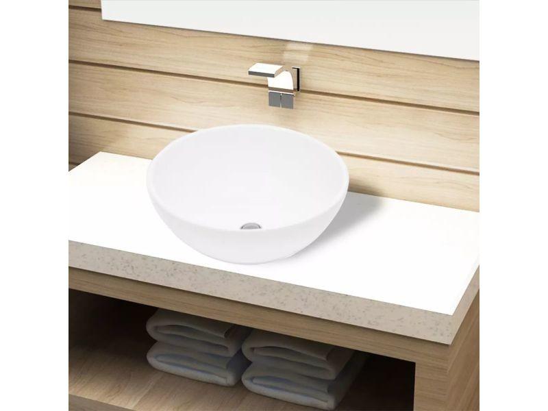 Icaverne - lavabos sublime lavabo de salle de bain céramique rond blanc -  Vente de Vasque et lavabo - Conforama 4bdbf79690f2