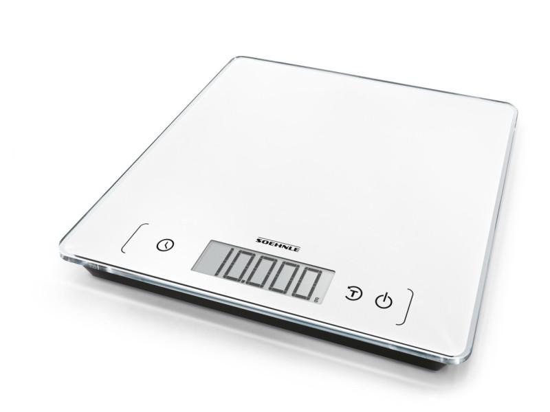 - 61505 - balance electronique 10kg/1g - coloris blanc SOE4006501615053