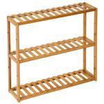 Meuble de salle de bain étagère bambou laqué 60 cm helloshop26 3208001