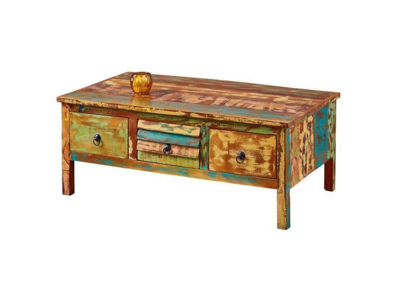 Paris prix - table basse en bois \