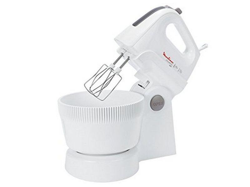 Pétrisseurs magnifique mixeur/mélangeur de pâte moulinex hm 6151 powermix bol 3,3 l 500w blanc