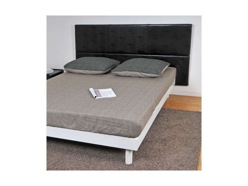 conforama tete de lit 140 trendy tetes de lit conforama tate de lit cm warren coloris blanc. Black Bedroom Furniture Sets. Home Design Ideas
