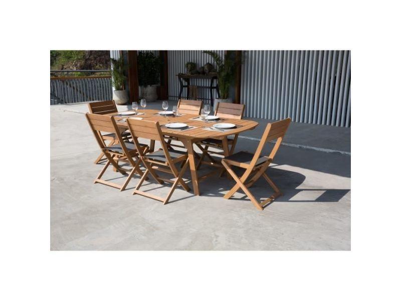 Salon de jardin - ensemble table chaise fauteuil de jardin ensemble ...