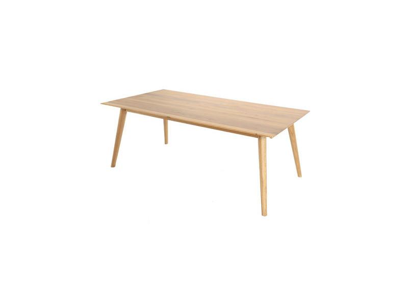 Table à manger en chêne 180 cm - lulea