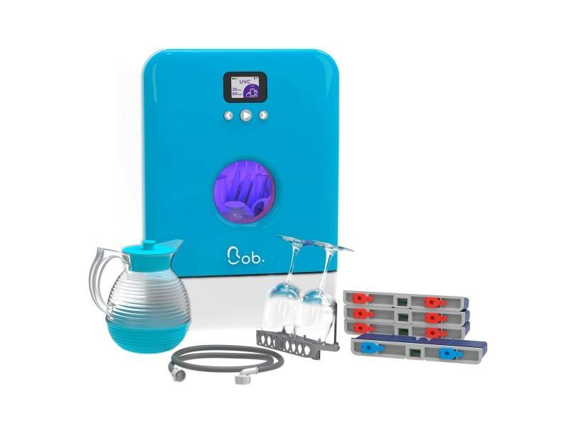 Bob le mini lave-vaisselle premium pack | édition bleu maya