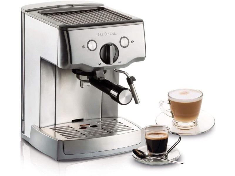 Machine à café expresso de 1,5l 1000w gris