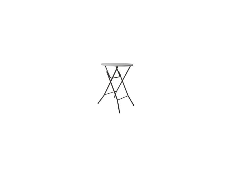 Table pliante - rond - ø 80 x 110 cm VELLFP185N