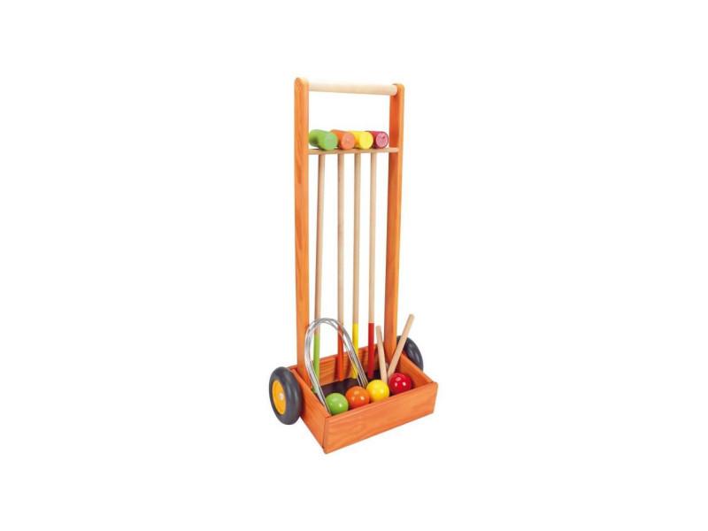 Jeu de croquet en bois JEU3225280860206