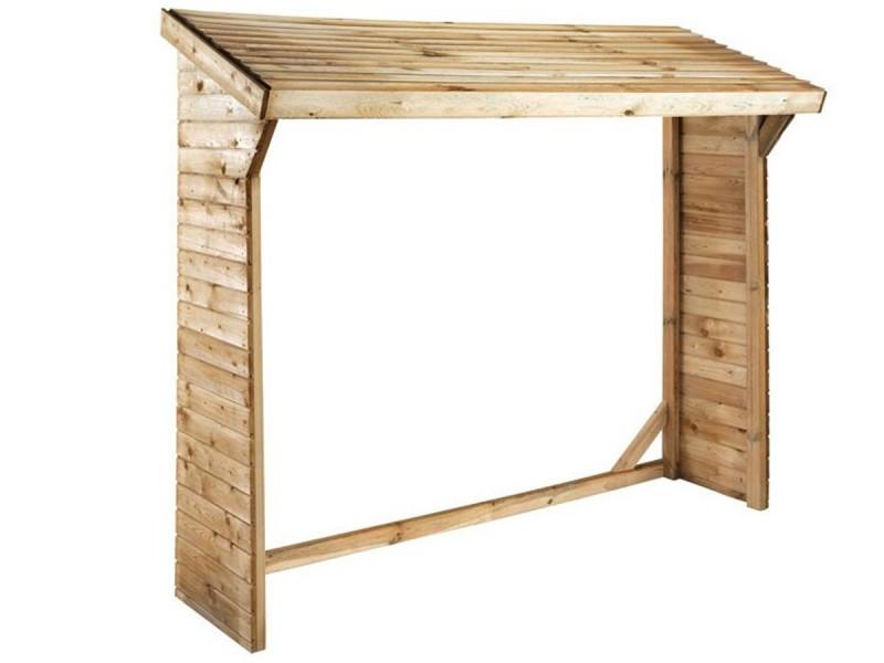 Jardipolys - abri bûches en bois 2 stères - olbia B_0100188