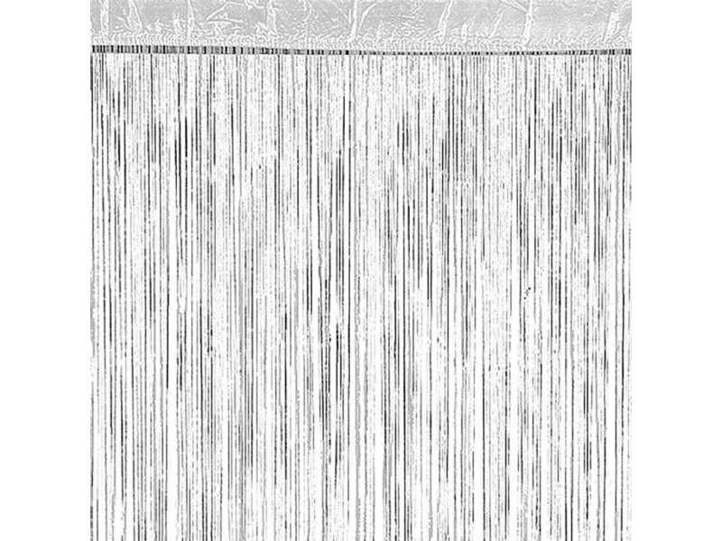 Rideau à fils blanc - Vente de Rideau, voilage, store - Conforama