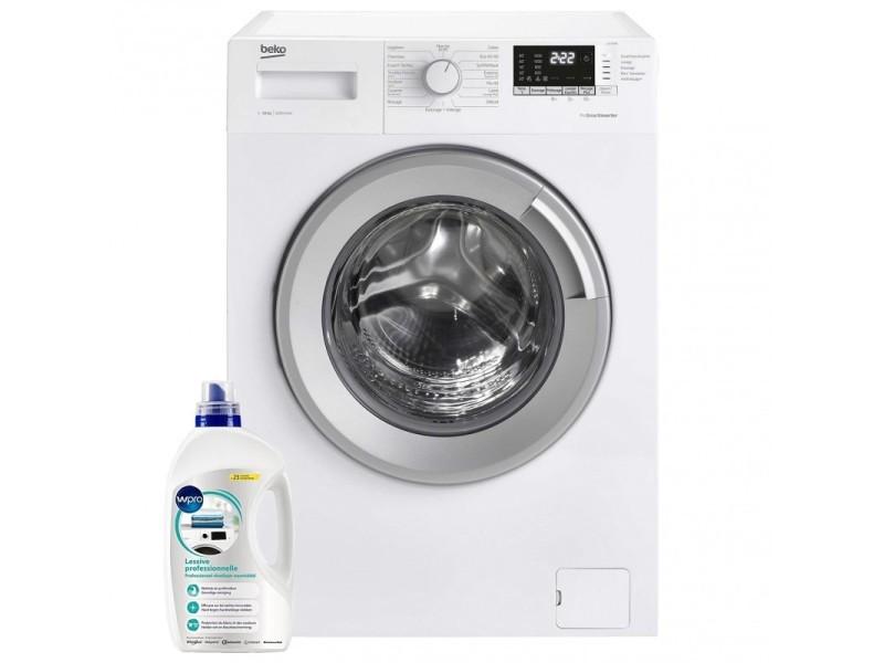 Lave-linge frontal 10kg a+++ 1200trs/min anti-vibration machine à laver hublot