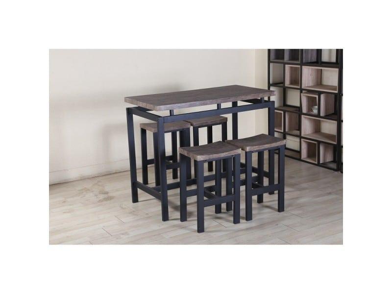 Type Moderne HauteBar4 Table Tabourets Ensemble NimesSet tQCxhdsrB