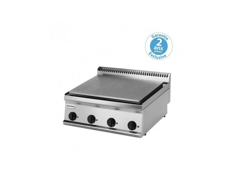 Plaque électrique de mijotage - gamme 700 - 8 kw - tecnoinox - 700