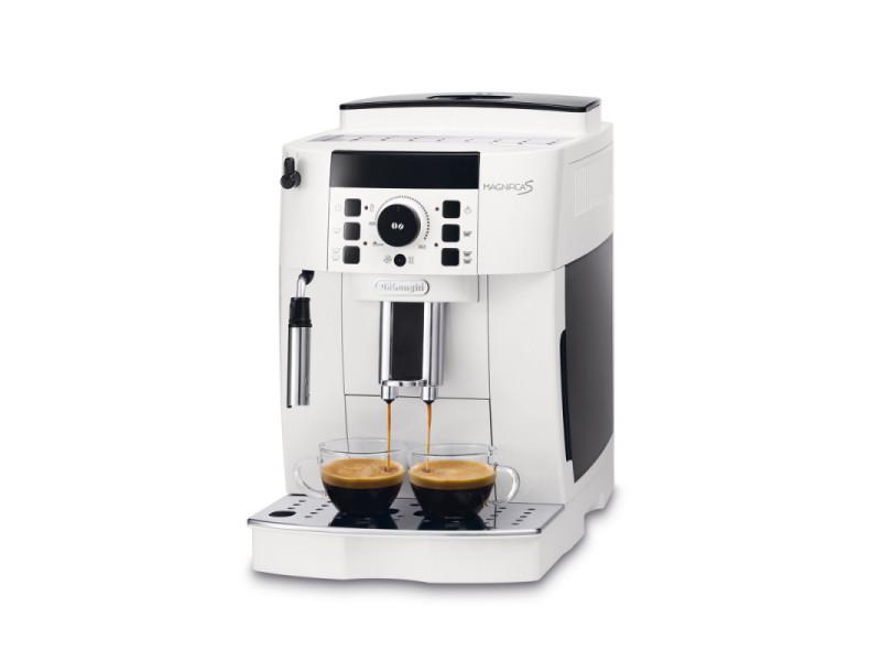 Machine à expresso avec broyeur pour café en grains et moulu 1450w blanc