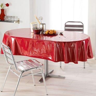 toile cir e nappe de protection 140 x 240 cm ovale. Black Bedroom Furniture Sets. Home Design Ideas
