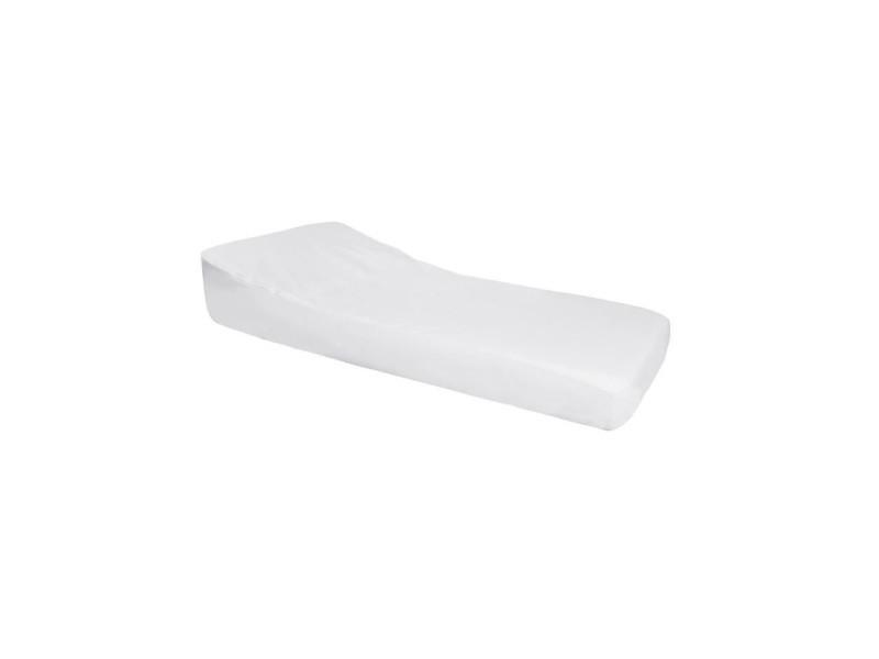 Nova drap housse imperméable pro secur spécial plan incliné 15° - perle / blanc - 60x120 cm DOU3700948304648