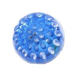 Balle led à presser fluorescente bleue