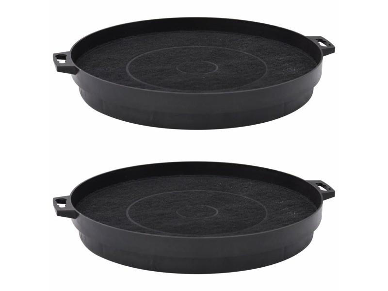 Inedit accessoires petit électroménager ensemble ljubljana filtres à charbon pour hotte de cuisine 2 pcs 210 mm