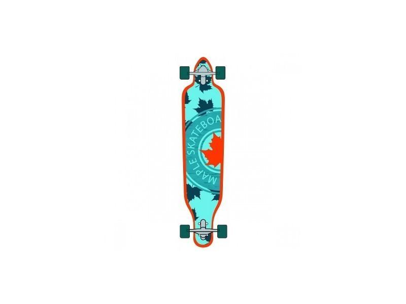 Skate maple sk8 longboard drop through 41\