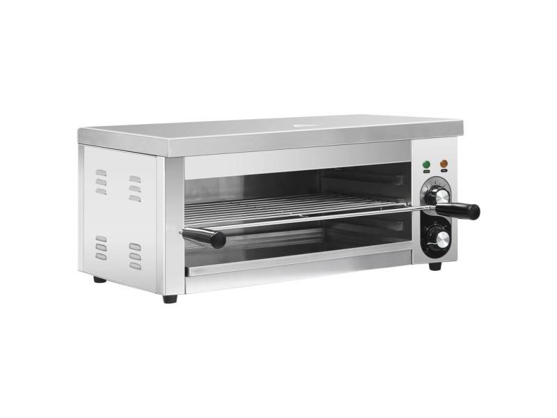 Contemporain électroménager de cuisine ligne katmandou salamandre gastronorm électrique 2500 w acier inoxydable