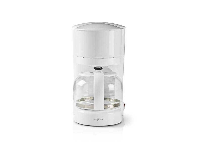 Nedis kacm110ewt machine à café | jusqu'à 11 tasses | blanc