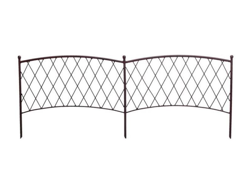 Intermas - bordure décorative en métal classic metal border 170061
