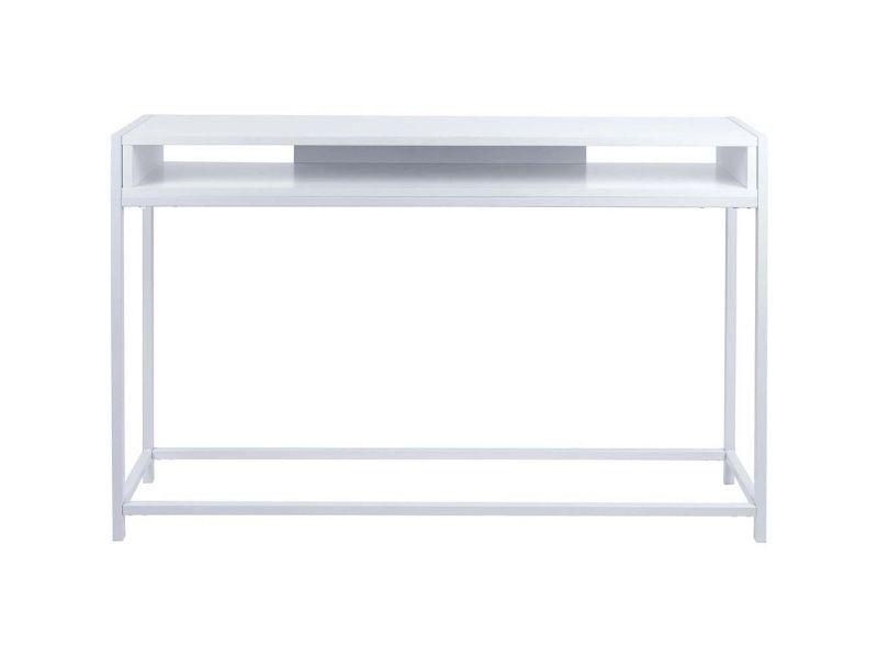 Console laquée blanche fushion