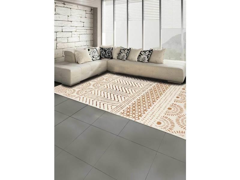Tapis tendance inspiration berbere af orienvag crème, beige 80 x 150 cm