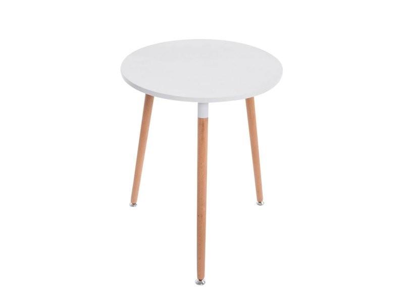 Table De Cuisine Petite Table D Appoint Ronde 3 Pieds En Bois