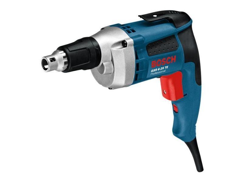 Bosch – visseuse plaquiste 6mm 700w – gsr 6-25 te 601445000