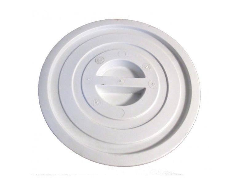 Couvercle pour poubelle ronde en plastique - ø 44 à 67 cm - combisteel - 44 cm plastique 53 (ø) cm