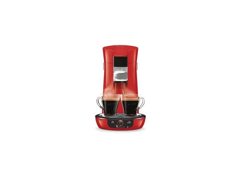 Senseo viva collection 1-2t 0,8l arret auto demarrage instantane rouge