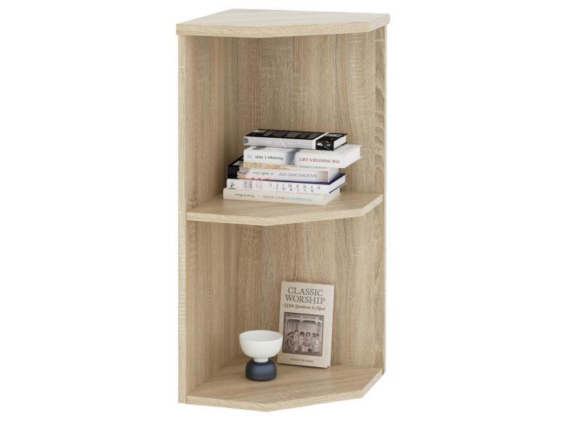 etag re d 39 angle 2 tablettes d cor ch ne sonoma vente de. Black Bedroom Furniture Sets. Home Design Ideas